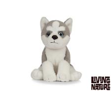 Living Naturaleza Husky Cachorro - AN445 Realista Animal Esponjoso Peluche