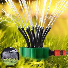 360° Auto Flexible Lawn Garden Sprinkler Watering System Water Spray Grass Yard