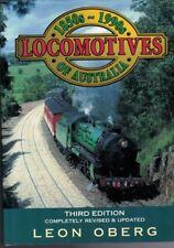 Locomotives of Australia 1850s To 1990s Revised Updated by Leon Oberg (Hardback)