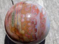 SWEET  OCEAN JASPER SPHERE MARBLE 40MM 1 11/16''     6870