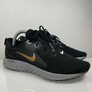 Nike Womens Legend React Size UK 6.5 EU 40.5 Black Grey Trainers