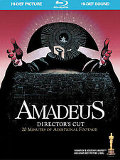 Amadeus (Blu-ray Disc, 2009, 2-Disc Set, with Bonus Cd) Director's Cut Brand New