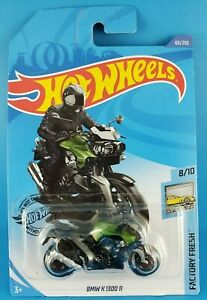 2019 Mattel Hot Wheels 8/10 FACTORY FRESH BMW K 1300 R #65/250