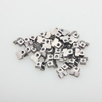 30pcs Nickel plated Guitar String Saddles For GB WIRED ABR-1 bridge