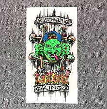 DEATHWISH JUSSKID Lizard King Skateboard Sticker 5.5in si