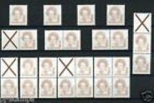 Nederland alle combinaties  uit  postzegelboekje 43  postfris/MNH