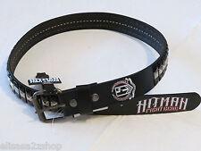 Hitman Fight Gear Men's belt UFC MMA 40 black leather belt 2-1004 t1519 NEW *^