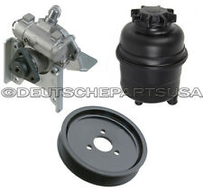 P/S POWER STEERING PUMP P/S PULLEY P/S RESERVOIR for BMW E39 525i 528i 530i