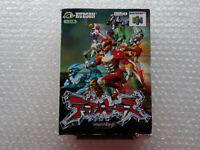 Dual Heroes Nintendo 64 N64 Japan