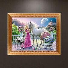 5D DIY diamant peinture Beauté Cheval Broderie point de croix Décor Artisanat