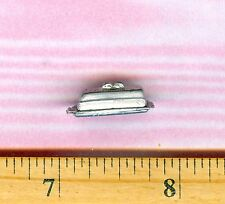Dollhouse Miniature Size Covered Butter Dish