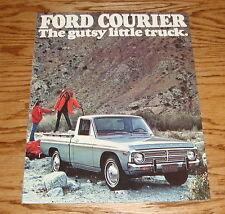 Original 1976 Ford Courier Gutsy Little Truck Sales Brochure 76