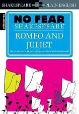 Romeo and Juliet (No Fear Shakespeare) by William Shakespeare (Paperback, 2003)