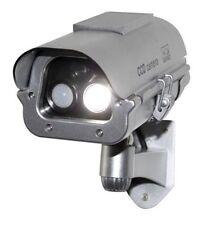 Solar Powered CCTV Security Fake Dummy Camera With Flash Lights+Human Sensor