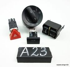 VW Caddy 3 III Kasten Warnblinkerschalter Lichtschalter Leuchtweiteregulierung
