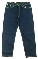 New Levis 550 Mens 42x32 Relaxed Dark Blue Stretch Jeans M3