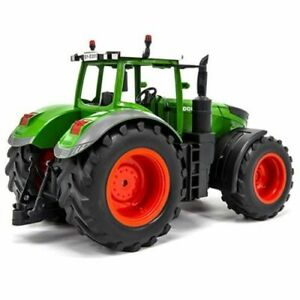 Remote Control Farm Tractor Trailer Dump Large Vehicle Toy RC Truck Rechargeable