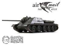 SU-85 Soviet Tank Destroyer 1943 Year 1/72 Scale Diecast Model World War II