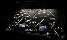 VW Golf 3 UK GTI 16V 2,0 ABF MFA Tacho 20km/h Tankwarnleuchte NUR HIER Blau Rot