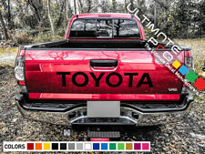Light Sticker Decal for Toyota Hilux Tailgate rear door pick up D4D mk3 v6 clear