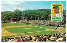 Jackie Robinson 1st Day Issue Stamp Doubleday Field Postcard Cooperstown NY (F)