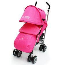 Baby Girls Pink Foot Muff Rain Cover Pram Stroller Pushchair Buggy