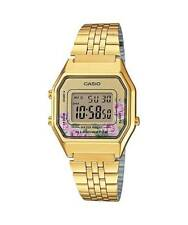 Casio LA680WGA-4C Women's Vintage Gold Tone Chronograph Alarm Digital Watch