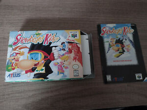 Snowboard Kids 64 Box and Booklet only AUTHENTIC