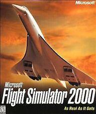 Microsoft Flight Simulator 2000 (PC, 1999)