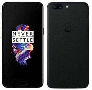 OnePlus 5 - 128GB (Dual Sim) - Midnight Black (Unlocked) Smartphone - Grade A