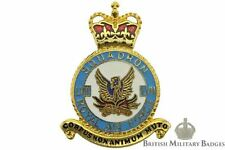 Queens Crown Royal Air Force 57 LVII Squadron Unit RAF PLAQUE Badge - BZ20