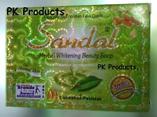 6 X New Sandal SOAP - Herbal Whitening Beauty For Normal Skin - 100% natural.