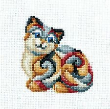 "Cross Stitch Kit Make Your Own Hands C-33 - ""Figurines. Cat"""