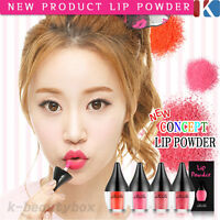 NEW CONCEPT TINT Long Lasting Lip powder tint gloss All day Real Strong color!
