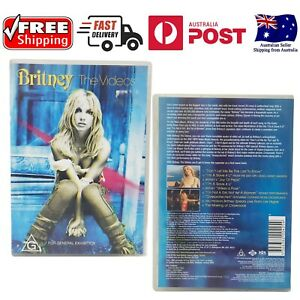Britney Spears: The Music Videos (DVD 2001) Region 4