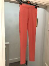 LADIES JEGGINGS SIZE 8 H&M / PINK NEW WITH TAGS (BB)