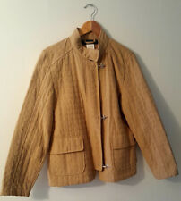 Pre Owned Women's Harve Benard Tan Light Jacket Size 12