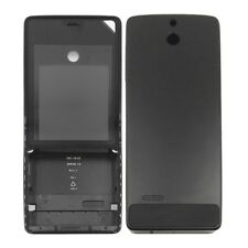 Full Housing Cover (Front Cover + Battery Back Cover) for Nokia 515 Black