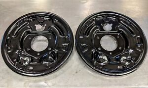 Shelby GT350 GT500 Rear Brake Plates KH FoMoCo Assembly Line Pair 65 66 67 Show!