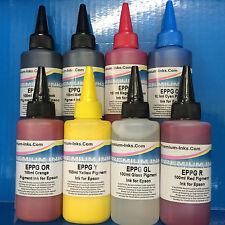 800ml PIGMENT PRINTER INK JET REFILL BOTTLES FOR EPSON STYLUS PHOTO R1900 R2000