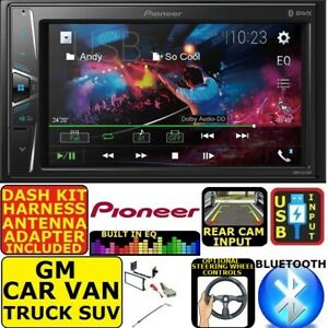 FITS GM CAR-TRUCK-VAN-SUV PIONEER BLUETOOTH USB AUX CAR RADIO STEREO PACKAGE