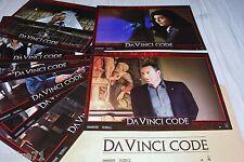 DA VINCI CODE ! j reno tom hanks  jeu 8 photos cinema fantastique lobby cards