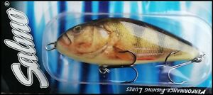 SALMO FATSO Floating 10 cm, 47 g, RPH (Real Perch) color