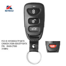 Replacement Remote Key Fob 3+1B 315MHz for Kia Optima 2011-2013 P/N: 95430-2T000