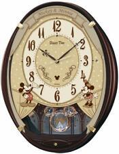SEIKO Disney Mickey Mouse Radio Wall Clock 6 Melodies FW579B F/S