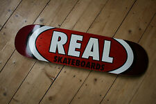 Real Logo Skateboard Deck