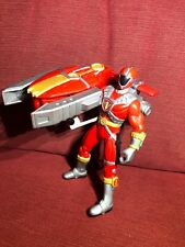 """Power Rangers Lightspeed Rescue No 1 Red 5"""" Action Figure  - Bandai 1999"""