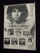 "THE DOORS Jim Morrison HUGE POSTER Promo LP Albums Collection 54"" x 38"" Vintage"