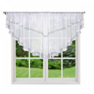 Schöne Fertiggardine aus Voile Gardine LB-271 85x400 Fenstergardine Wohnzimmer