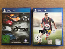 PS 4 The Crew & Fifa 15 Game 2 Spiele Rennen Fussball Playstation Set EA Sports